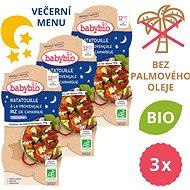 BABYBIO Ratatouille s ryžou 3× (2× 200 g) - Príkrm