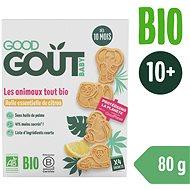 Good Gout BIO Citrónové zvieratká 80 g - Sušienky pre deti