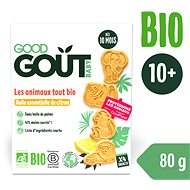 Good Gout BIO Lemon animals 80 g - Children's Cookies