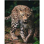 """Jerry Fabrics Mikroflanelová deka Leopard """"Green"""" - Deka do kočíka"""