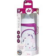Nip Kids cup with drinker 330 ml girl - Children's Water Bottle