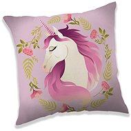 Jerry Fabrics Vankúš Unicorn flower - Vankúš