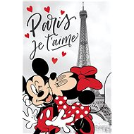 Jerry Fabrics Detská deka MM in Paris Eiffel tower - Detská deka
