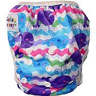 GaGa's Plienkové plavky Farebné veľryby - Plienkové plavky