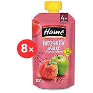 HAMÉ Peach 8 × 100 g - Baby Food