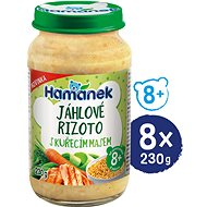 HAMÁNEK Millet risotto with chicken 8 × 230 g - Baby Food