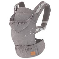 Kinderkraft Baby Carrier Huggy Grey - Baby Carrier