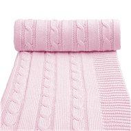 T-tomi Pletená deka pink - Detská deka