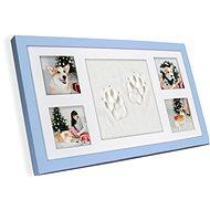 GOLD BABY Four Pet rámeček na otisk - modrý - Súprava na odtlačky