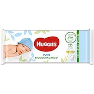 HUGGIES Pure Biodegradable 56 pcs - Baby Wet Wipes