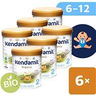 Kendamil BIO/organické pokračovacie mlieko 2 DHA+ (6× 800 g) - Dojčenské mlieko