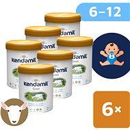 Kendamil Kozie pokračovacie mlieko 2 DHA+ (6× 800 g) - Dojčenské mlieko