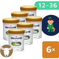 Kendamil Kozie batoľacie mlieko 3 DHA+ (6× 800 g) - Dojčenské mlieko