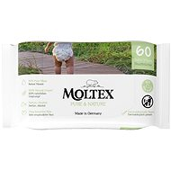 MOLTEX EKO Pure & Nature water based (60 pcs) - Baby Wet Wipes