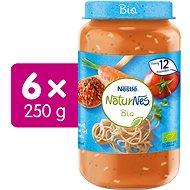 NESTLÉ NaturNes BIO Špagety Bolognese 6× 250 g - Príkrm