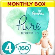 PAMPERS Pure Protection veľ. 4 (160 ks) - Detské plienky