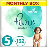 PAMPERS Pure Protection veľ. 5 (132 ks) - Detské plienky