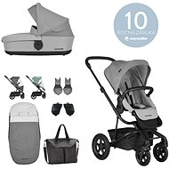 EASYWALKER Set Harvey2 All-Terrain Stone Grey with Accessories - Baby Buggy