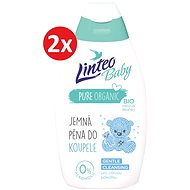 LINTEO BABY Baby Bath Foam 2× 425ml - Children's Bath Foam
