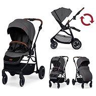KINDERKRAFT Stroller sporty All Road Ash Gray - Baby Buggy