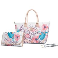 KINDERKRAFT - Prebaľovacia taška Mommy Bag Bird - Prebaľovacia taška na kočík