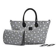Prebaľovacia taška na kočík KINDERKRAFT Prebaľovacia taška Mommy Bag Grey