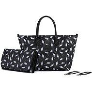 KINDERKRAFT Prebaľovacia taška Mommy Bag Black - Prebaľovacia taška na kočík