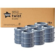 Tommee Tippee Sangenic Twist spare cartridges 18 pcs - Nappy Sacks