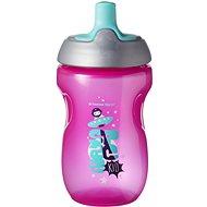 Tommee Tippee netečúca športová fľaša 12 mes.+, Pink, 300 ml - Detská fľaša na pitie