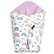 Eseco Feather wrap rainbow - Swaddle Blanket