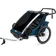 THULE CHARIOT CROSS 2 Majolica Blue - Vozík za bicykel