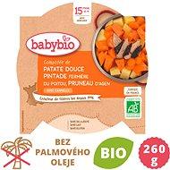 BABYBIO, Sladké zemiaky s perličkou a suš. slivkami, 260 g - Príkrm
