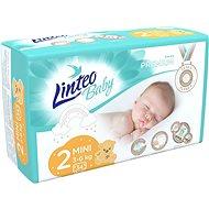 LINTEO Baby Premium MINI (3-6 kg) 34 pcs - Baby Nappies