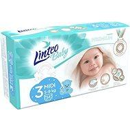 LINTEO Baby Prémium MIDI (5 – 9 kg), 54 ks - Detské plienky