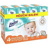 LINTEO Baby Prémium MAXI+ (10 – 17 kg), 184 ks - Detské plienky