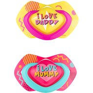 Canpol babies NEON LOVE, 0 – 6 mes., 2 ks, ružový