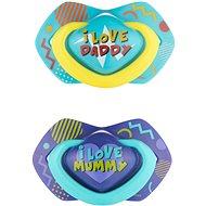 Canpol babies NEON LOVE, 6 – 18 mes., 2 ks, modrý