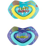 Canpol babies NEON LOVE, 18 mes.+, 2 ks, modrý