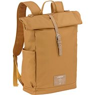 Funny Green Label Rolltop Backpack curry - Nappy Changing Bag