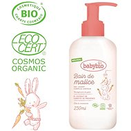 BABYBIO Shower ORGANIC Gel for Babies 250ml - Children's Shower Gel