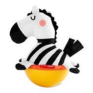 Skip Hop Hračka Wobble ABC & ME Zebra so zvukom zvonenia, 3 mes.+