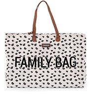 CHILDHOME Family Bag Canvas Leopard - Prebaľovacia taška na kočík