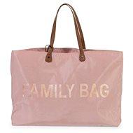 CHILDHOME Family Bag Pink - Pram Bag