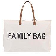 CHILDHOME Family Bag White - Prebaľovacia taška na kočík