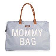 CHILDHOME Mommy Bag Grey Off White - Prebaľovacia taška na kočík