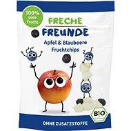 Freche Freunde BIO Ovocné čipsy – Jablko a čučoriedka 3× 16 g