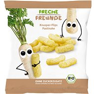 Freche Freunde ORGANIC Puffs  - Parsnip 20g - Corn Puffs for Kids