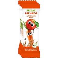 Freche Freunde ORGANIC Fruit Stick - Apple and Carrot 4 × 23g - Children's Cookies
