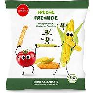Freche Freunde BIO Zeleninové tyčinky s paradajkou, kukuricou a hráškom 30 g - Chrumky pre deti