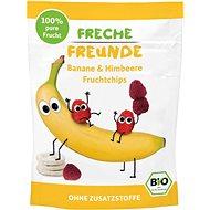 Freche Freunde BIO Ovocné čipsy – Banán a malina 16 g